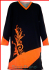 FELICITY SERIES- Black Orange-TShirt FC: